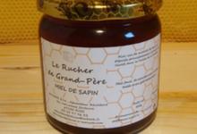 le rucher de grand-Père, miel de sapin