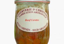 conserverie Saint Christophe, Bœuf Carottes