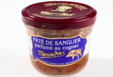 conserverie Mercier, Pâté de sanglier parfumé au Cognac