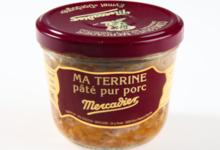 conserverie Mercier, Ma terrine pâté pur porc