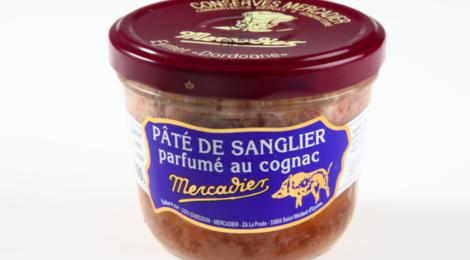 conserverie Mercadier, Pâté de sanglier parfumé au Cognac