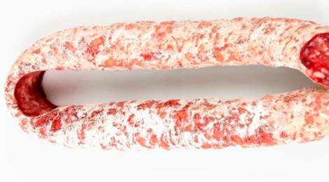 salaisons Oberti, saucisse sèche à la perche de Lacaune