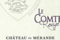 Château de Mérande, Le Comte Rouge