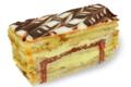 pâtisserie-chocolaterie Baurez, Mille feuilles
