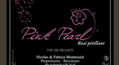 Clos la Merzière, Pink Pearl - Rosé pétillant