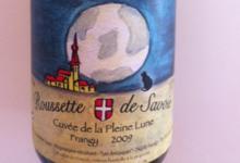 domaine lupin, Roussette de Savoie - Cuvée de la pleine lune