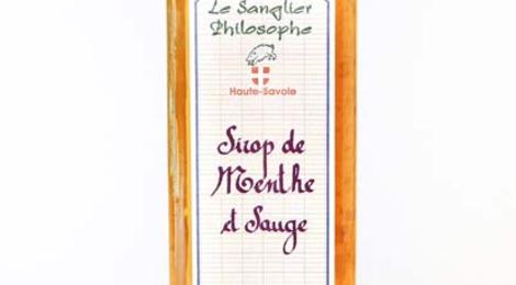 Le Sanglier Philosophe, Sirop de menthe et sauge