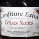 confiture extra de cerises noires
