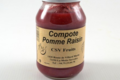 CSV Fruits, compote pomme raisin