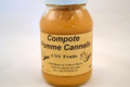 CSV Fruits, compote pomme cannelle