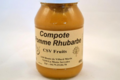CSV Fruits, compote pomme rhubarbe
