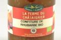 La Ferme Du Chataignier, confiture de rhubarbe