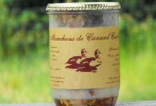 ferme de l'Argenté, manchons confits de canard