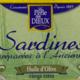 La perle des Dieux, Sardines à l'huile d'olive vierge extra