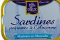 la perle des dieux, Sardines marinées au muscadet