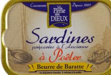 la perle des dieux, Sardines à poêler au beurre de baratte
