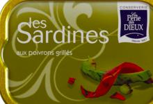 Sardines aux poivrons grillés