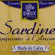 Sardines à l'huile de colza