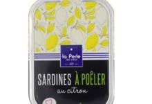 Sardines à poêler au citron