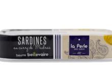 Sardines à poêler au curry de Madras