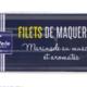 Filets de maquereaux Marinade au muscadet et aromates