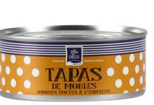 Tapas de moules tomates épicées à l'Espelette