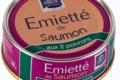 Emietté de saumon aux 2 poivrons