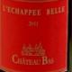 Château Bas, L'Echappée Belle Rouge