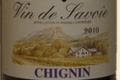 Domaine du Colombier, Chignin