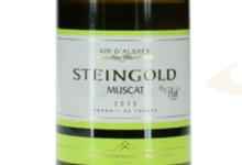 La cave des vignerons de Pfaffenheim, Steingold Muscat A.O.C. Alsace
