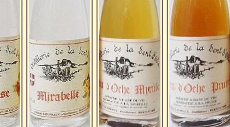 Distillerie de la Dent d'Oche, eau de vie de mirabelle