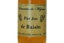 Domaine de Méjane, Jus de raisin