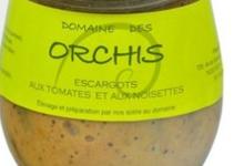 Domaine des Orchis, Escargots aux Tomates & aux Noisettes