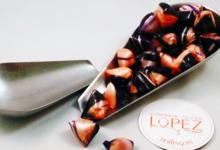 confiserie Lopez, berlingots violette framboise