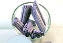 confiserie Lopez, bois cassé violette