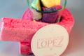confiserie Lopez, guimauve framboise