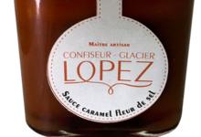 confiserie Lopez, pot de caramel