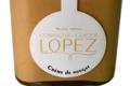 confiserie Lopez, pot de crème de nougat