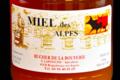 Rucher de la Bouverie, Miel des Alpes