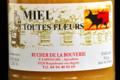 Rucher de la Bouverie, Miel de toutes fleurs
