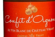 château Virant, Confit d'oignon au vin blanc