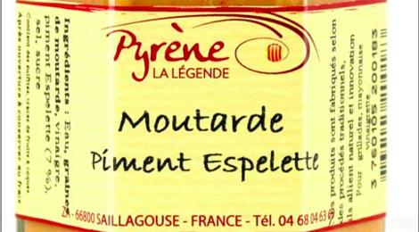 la légende de Pyrène, Moutarde Piment d'Espelette