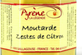 la légende de Pyrène, Moutarde aux zestes de citron