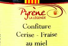 la légende de Pyrène, Cerise & Fraise au miel