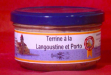 Terrine à la Langoustine et Porto
