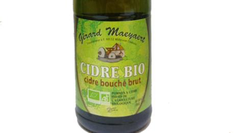 Maeyaert, Cidre Brut Biologique