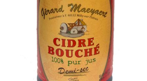 Maeyaert, Cidre demi sec