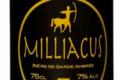 Bière ambrée Milliacus (7% Vol. Alc.).