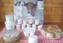 L'auberge Des Vaches, yaourts nature et fruité