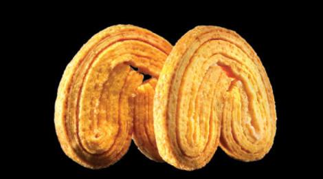 Biscuiterie Menou, palmiers pur beurre